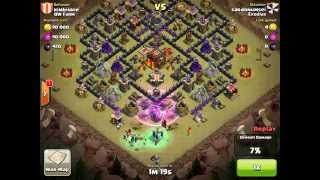 Clash of Clans - Clanwar Exodias vs QW Farm bloopers