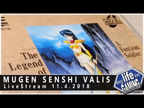 Mugen Senshi Valis: The Legend of a Fantasm Soldier :: 11.4.2018 LiveStream / MY LIFE IN GAMING - Mugen Senshi Valis: The Legend of a Fantasm Soldier :: 11.4.2018 LiveStream / MY LIFE IN GAMING