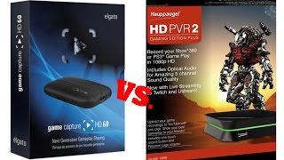 Elgato Game Capture HD60 Vs. Hauppauge HD PVR 2 Gaming Edition Plus