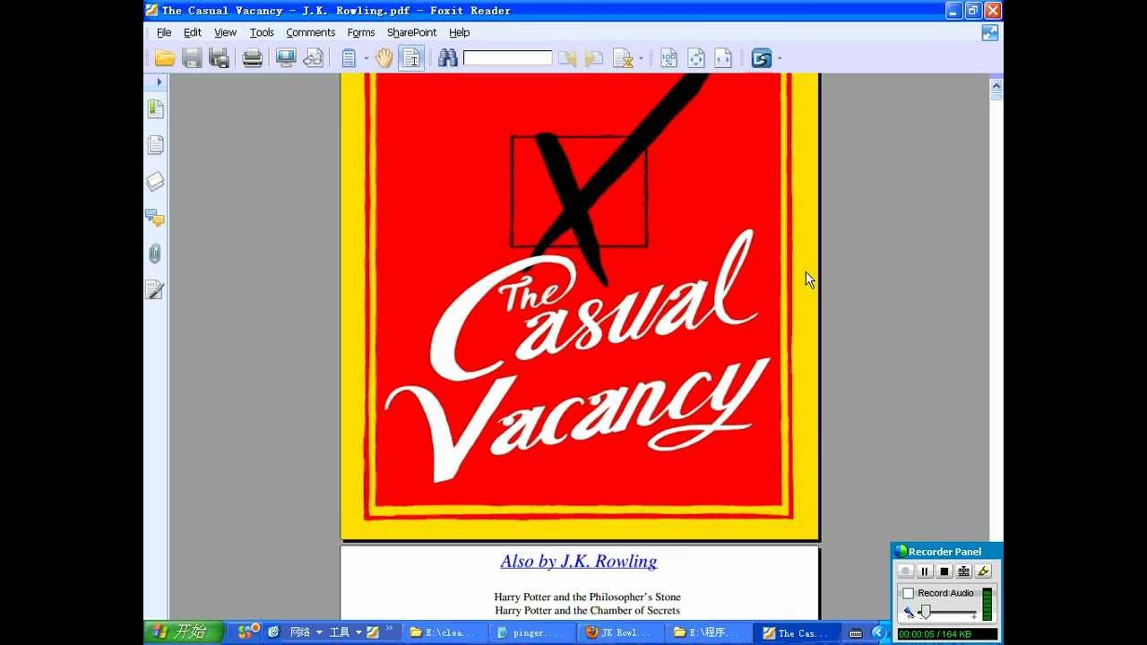 The Casual Vacancy Full Pdf