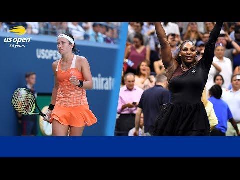 2018 US Open Match Preview: Serena Williams Vs Anastasija Sevastova