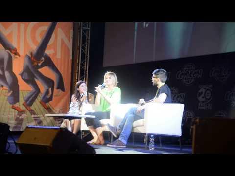 Lucy Lawless al Comicon di Napoli