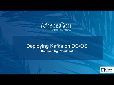 Deploying Kafka on DC/OS