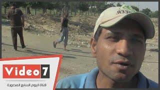 """مواطن لمحافظ الجيزة:"""" الصرف الصحى يغرق عزبة مدكور بالمنيب """""""