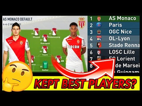 🤔 WHAT IF MONACO KEPT ALL THEIR BEST PLAYERS? ⚡ FIFA 17 EXPERIMENT