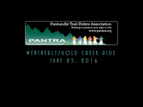Weatherly/Gold Creek Ride (2016)