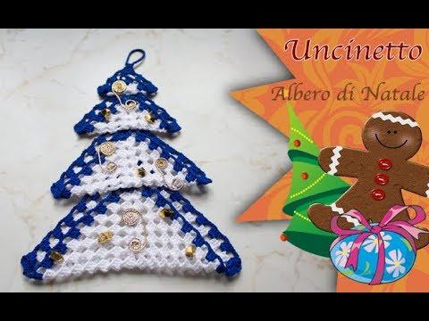 Albero Di Natale Uncinetto Youtube.Uncinetto Natale Albero Di Natale How To Do Christmas Tree Youtube