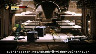 Shank 2 Walkthrough - Level 6: Human Cargo Part 1 [HD]