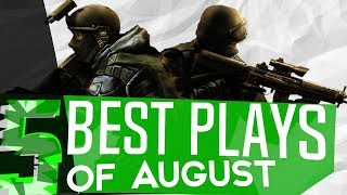 5 BEST Plays of AUGUST! - CS:GO