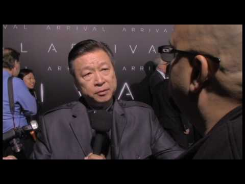 With Tzi Ma at The World Premiere of ARRIVAL