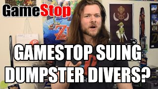 GameStop Threatening Legal Action Against Dumpster Divers?