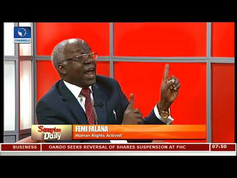 Why Nigeria, South Africa Is Responsible For Libya Slavery-- Falana