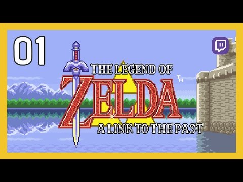 Quick Zelda! Save Princess Link before Bowser eats her! - LOZ: Link To The Past - Part 01