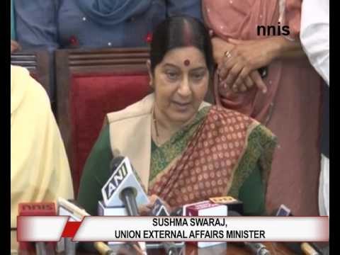 Those Stranded In Iraq Will Be Released Says Sushma Swaraj