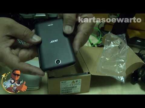 Acer Z130 - Liquid Z3 Unboxing 2014 (Disco Music)