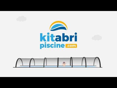 Les avantages de nos abris de piscine en kit - Kitabripiscine.com