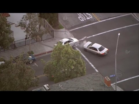 High-Speed Police Car Chase Caught on Video