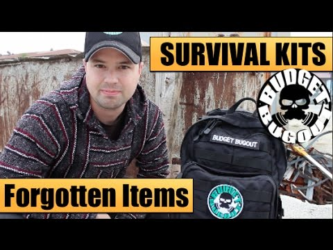 Survival Kits - Build Your Own: The 5 Most Forgotten Items | Disasters & Emergencies