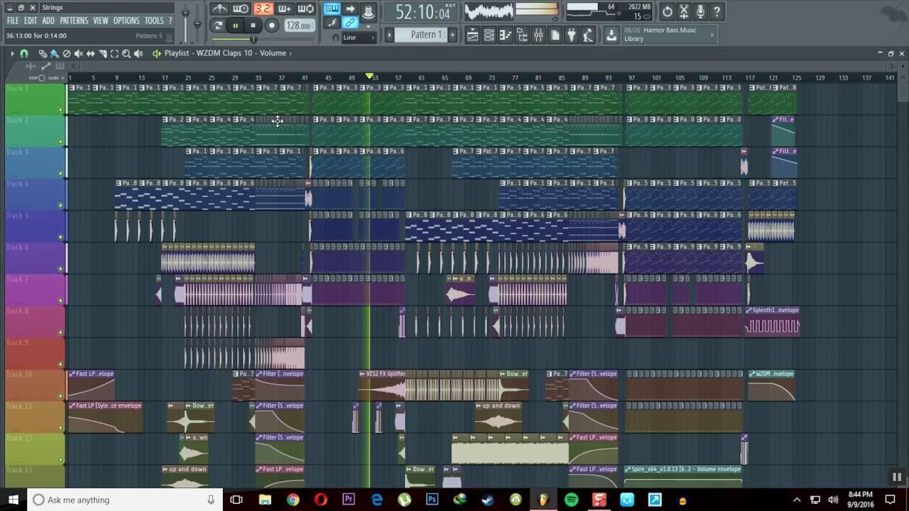 Strings - FL Studio EDM music by Joji + download link