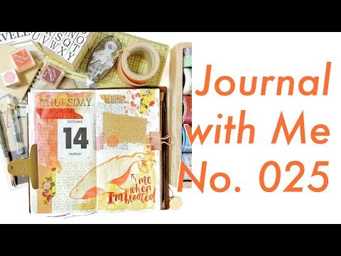 Journal with Me No. 025 (Unedited) | Midori Traveler's Notebook