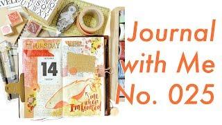 Journal with Me No. 025 (Unedited) | Midori Traveler's Notebook