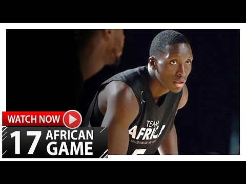Victor Oladipo Full Highlights vs Team World (2017 Africa Game) - 28 Pts, 9 Reb, 5 Ast