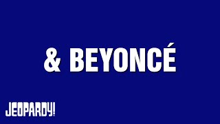 """& BEYONCÉ"" Category on Jeopardy! thumbnail"