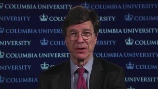 Jeffrey Sachs discussing global economy on BBC Newsnight 1/19/16