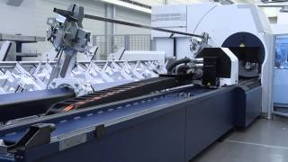 TRUMPF laser tube cutting: TruLaser Tube 7000 - Producing short runs