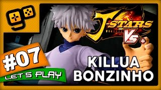 Let's Play: J-Stars Victory VS+ (LUFFY) - Parte 7 - Killua Bonzinho