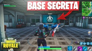 NUEVA *BASE OCULTA* ESCONDIDA en FORTNITE: Battle Royale