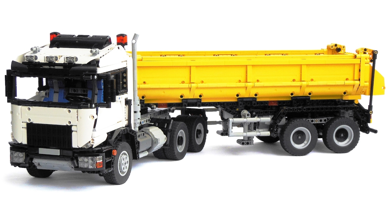 lego city semi truck instructions