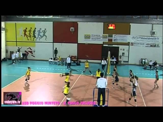 ASD Poggio Mirteto vs S. Paolo Palocco - 2° Set