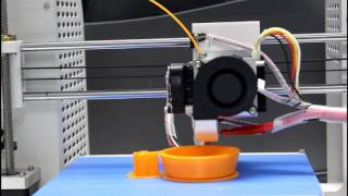 jgaurora 3d printer print a cup super smooth surface