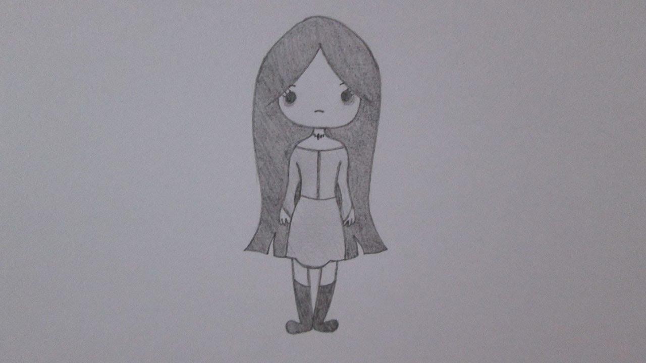 Como Desenhar Uma Garota Emo Youtube