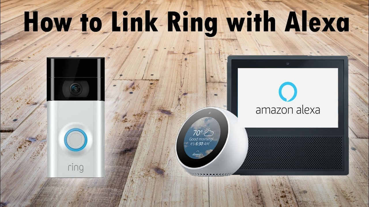 Haustürklingel Amazon How To Connect Ring Cameras To Amazon Echo Devices Alexa