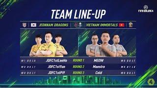 Vietnam Immortals vs Jeonnam Dragons - Vòng Bảng Ngày 2 [EACC Spring 2019]