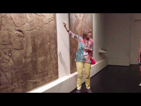 Assyrian Exhibit at the Los Angeles Contemporary Museum of Art