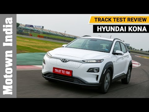 Hyundai Kona Electric SUV at BIC | First Drive | Motown India