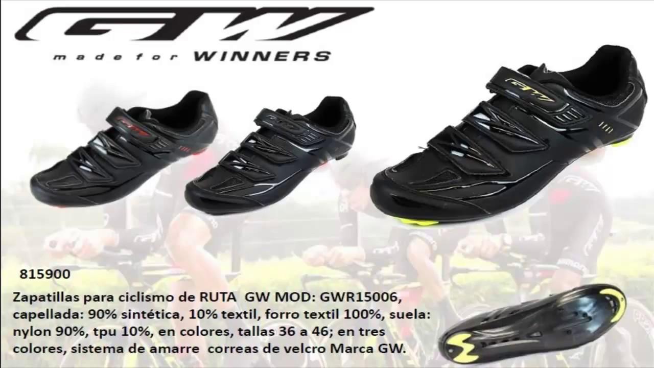 Precio pagable nuevo estilo y lujo Super baratas Zapatillas GW ciclismo Ruta y MTB 2018