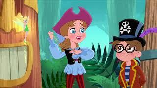 Каритан Джейк и Пираты Нетландии - Серия 120 - серия , сезон 4 | Мультфильм Disney Узнавайка