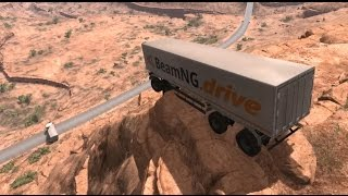 Delivery Trucks Fails & Crashes | BeamNG.drive