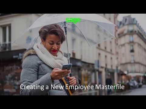 Sage Pastel Payroll: Creating New Employee
