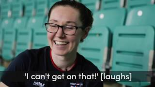 Katie Archibald on starting track cycling