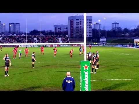 Glasgow Warriors vs Toulon - Jonny Wilkinson Parte 1