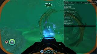 Subnautica_from south BLOOFKELP to LOSTRIVER junction