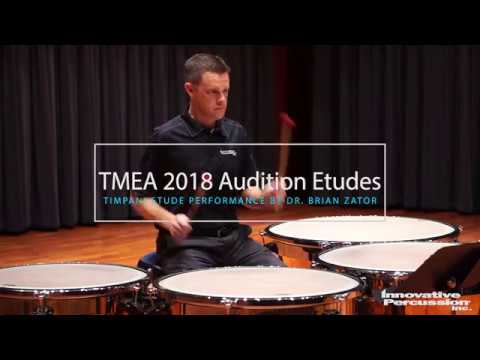 2018-2019 Texas All State Percussion Audition Timpani Performance