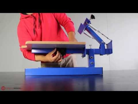 ND101-M Screen Printing Press Assembly – Commercial Bargains Inc