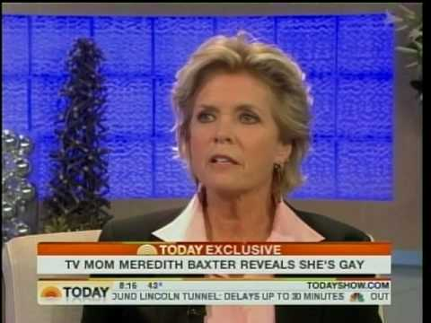 Meredith Baxter reveals SHE'S GAY