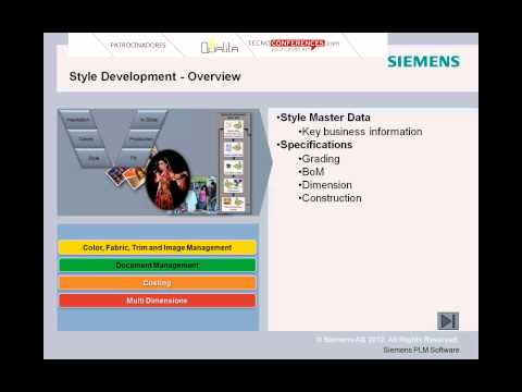 PLM para la moda y el calzado, por Siemens
